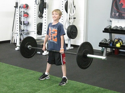 is weight training stunting growth in youth athletes
